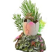 The Frog Aquarium Fish Tank Decoration Landscape Resin Simulation