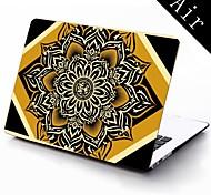 fairey Lotusblüte Design Ganzkörper-Schutz-Kunststoffgehäuse für 11-Zoll / 13 Zoll neue Mac Book Luft