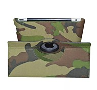 Fashion Camouflage PU Protect Holster with Stand  for iPad 2/3/4