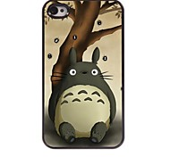 Cartoon Design Aluminum Hard Case for iPhone 4/4S