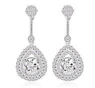 Elegant and Refined Fashion AAA Zircon Drop Earrings