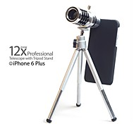"""5.5"""" 12X Mobile Phone Telephoto Lens with Tripod for iPhone 6 Plus"""