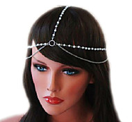 Pearl Gold Chain Hairband Hair accessories Crown Hair jewelry Headband Styling Tools Head Chain Head Jewelry