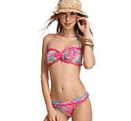 mode sexy multiples impression dentelle beachwear maillots de bain maillot de bain bikini ensemble biquini maillot de bain des femmes