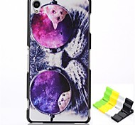 Back Cover Pattern Cat PC Hard Case Cover For Sony Sony Xperia Z3