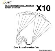 protetor de alta transparência hd lcd de tela para Samsung Lite tendência galáxia s7390 (10 peças)