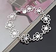 Stylish Sterling Silver Women's Bracelet