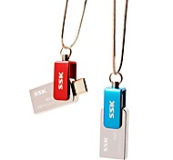 SSK OTG SFD239 8GB USB Flash Pen Drive for Smart Phone Computer Waterproof
