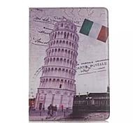 retrò torre pendente di custodie in pelle modello Pisa per ipad dell'aria 2