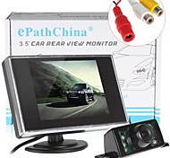 3.5 Inch 320 x 234 TFT LCD Car Rear View Monitor with 7 IR Lights Car Rear View Camera