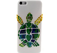 Tortoise Pattern TPU Soft Case for iPhone 5C