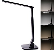 CV-100 14W 530lm 7000K 27-LED Touchpad Table Lamp with USB Outlet  (100~240V, EU Plug)