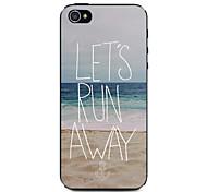 Ocean Beach Pattern Hard Case for iPhone 5/5S