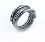 Fashion Stainless Steel  Metal Style Rings