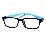 [Free Lenses] Kid's TR-90 Oval Full-Rim Fashion Prescription Eyeglasses