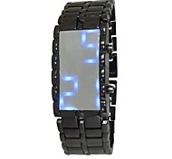 GOFO Men's Watch Sports LED Stealth Alloy Strap