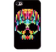 Cool Skull Pattern Aluminum Hard Case for iPhone 4/4S