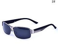 Polarized Men's Rectangle Aluminum Lightweight Sunglasses