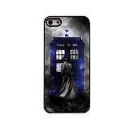 Police Box Design Aluminum Hard Case for iPhone 5/5S