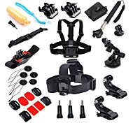 27-in-1 kit d'accessoires pour GoPro Hero 4 hero3 + caméra hero3