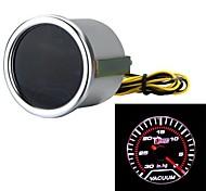 """Automotor universal Rauch len 2 """"52mm 30-0 in / hg Anzeige Vakuummeter weißen LED-Licht"""