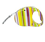 Dog Leash Yellow Plastic