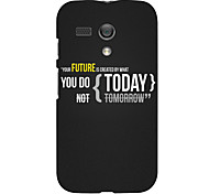 Future Design Hard Case for Motorola MOTO G