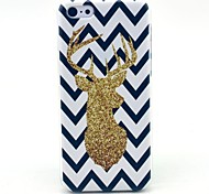 The Wave Reindeer Pattern Hard Cover Case for iPhone 5C