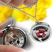 Women's  Alloy Quartz Necklace Watch