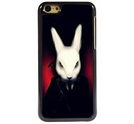 Rabbit Design Aluminum Hard Case for iPhone 5C