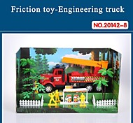 Hight Quality Toy Car for Children Friction Truck Set with Tools The Fire Fighting Theme 20142-8