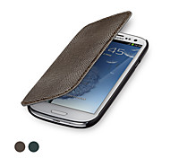 GGMM® Glam Flip-S Genuine Leather Cover Protective Case for Samsung Galaxy SIII (Assorted Colors)