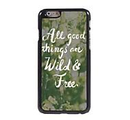 Wild & Free Design  Aluminum Case for iPhone 6
