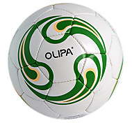 OLIPA Standard 5# Green PU Game and Training Football