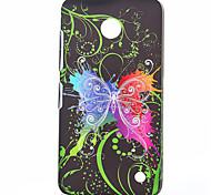 Dancing Butterfly Pattern Plastic Hard Cover for Nokia N630