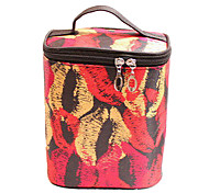Makeup Storage Cosmetic Bag 22*14*16 Black / Red / Yellow