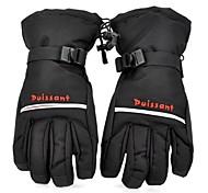 Winter Warm Full Finger Ski Gloves for Men Black (Pair / Free Size)