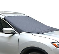 Clear Frost Snow Ice Sun Dust Car Windshield Cover Protector for SUV Truck Sedan Car (Universal Size)