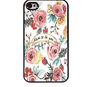 Dare to Be You Design Aluminum Case for iPhone 4/4S
