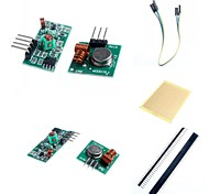 433M Superregeneration Wireless Transmitter Module (Burglar Alarm) and Receiver Module Accessories for Arduino