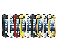 New Love Mei Antichoc Etanche Robuste Protection Metal Case for IPhone 5/5S(Assorted Color)