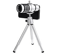 12X Detachable Optical Zoom Telephoto Lens with Hard Case and Tripod for iPhone 6 Plus