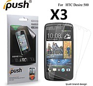 High Transparency Matte LCD Screen Protector for HTC Desire 500 (3 Pieces)