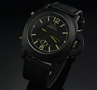Men's LED Digital Water Resistant Multifunctional Electronic Leather Band Sports Watch (Assorted Colors)