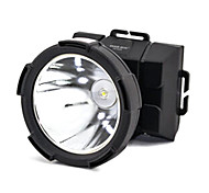 ZUKE ZK1693 Rechargeable 2-Mode 1x Cree LED 3W Headlamp(180LM, Black)