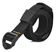 EDCGEAR Outdoor High Intensity Backpack Accessory Nylon Buckle Tying Band - Black