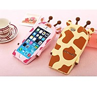 4.7 Inch Giraffe Silicone Back Case for iPhone 6 (Assorted Colors)