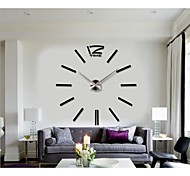 2015 New Home Decor Big Digital Wall Clock Modern Design Large Decorative Wall Clocks Watch Wall Hours Unique Gift