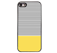 Stripes Design Aluminium Hard Case for iPhone 5/5S
