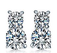 Luxury Bear 925 Sterling Silver Earrings